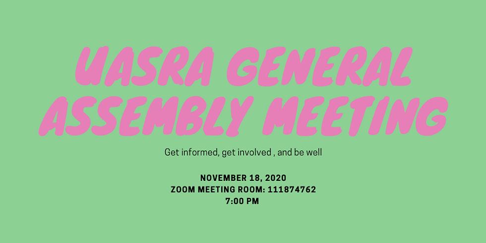 November-UASRA General Assembly Meeting