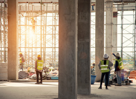 Construction and other outdoor workers – maintaining social distancing