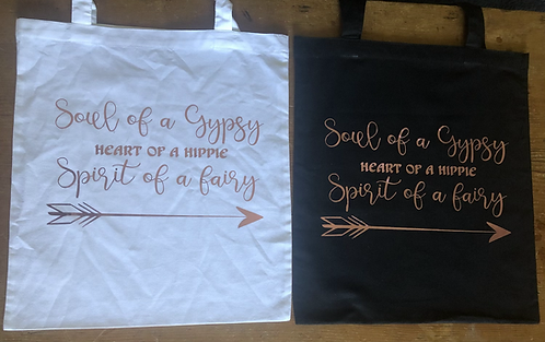 Soul of a Gypsy Tote Bag