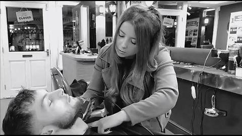 Rickii Ego  X barbers staff member