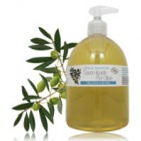 Жидкое мыло оливковое