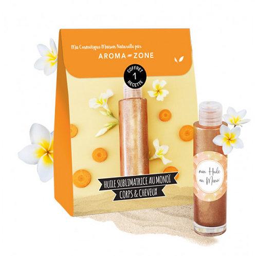 Набор для создания масла для тела с ароматом Моной