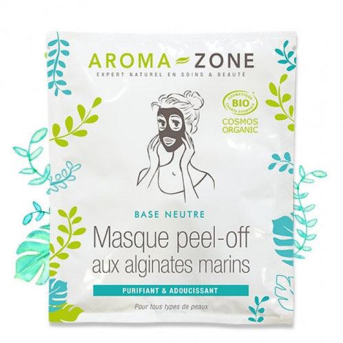 Альгинатная маска с водорослями