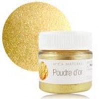 Мика Золотая (Mica poudre d'or)