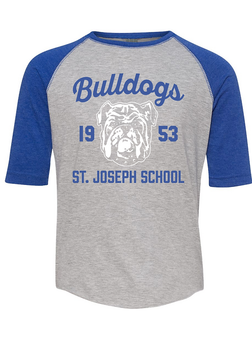 Bulldog Baseball T-Shirt (Youth)
