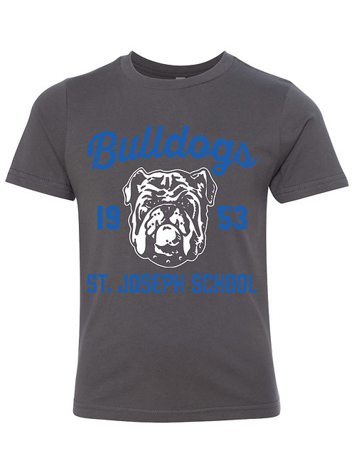 Grey Bulldog T-Shirt (Adult)