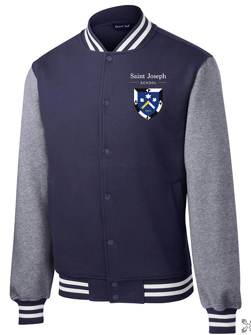 Varsity Button Fleece
