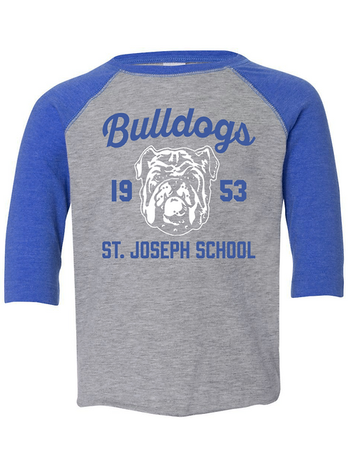 Bulldog Baseball T-Shirt (Adult)