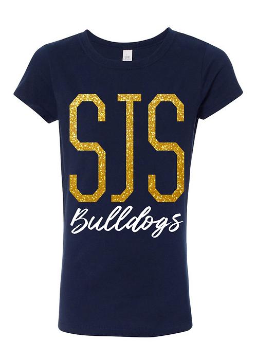 SJS Bulldog Sparkle Shirt (Youth)