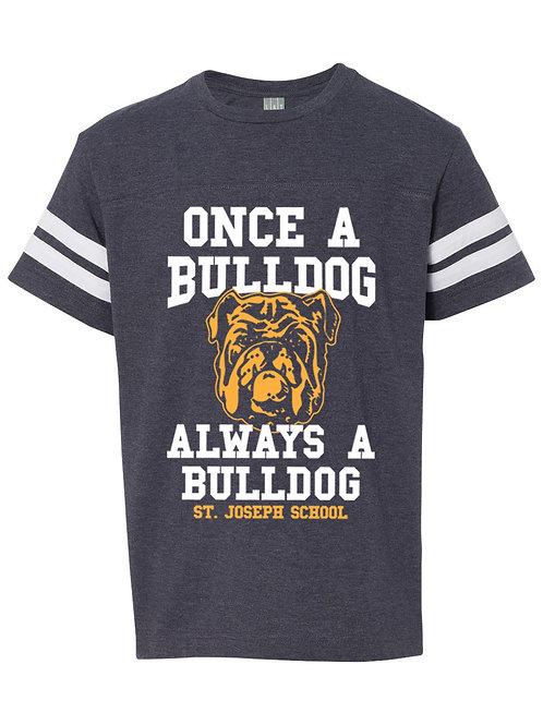 Adult Bulldog Football Tee