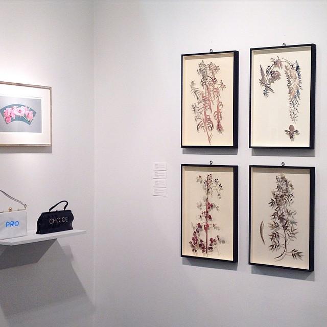 Art on Paper Art Fair, Nancy Hoffman Gallery, Pier 36, New York City 2015