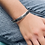 Thumbnail: Domed Sterling Silver Cuff