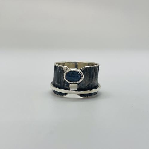 Blue Kyanite set in Sterling Silver