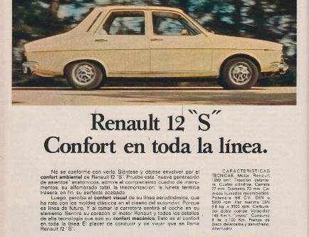 RENAULT 12 en el mundo