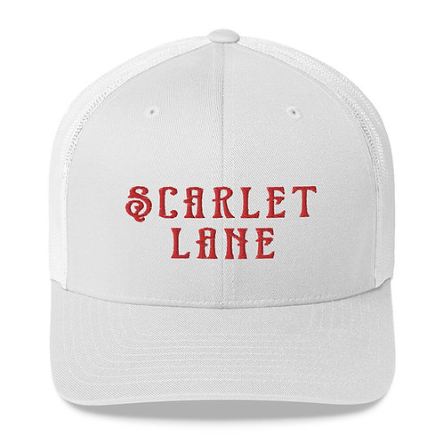 White/Red Classic Trucker Hat