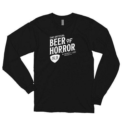 Official Beer of Horror Long-Sleeve Unisex
