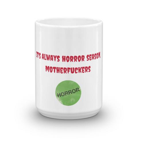 Horror Season 15oz Mug