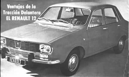 Ventajas de la Tracción Delantera Renault 12