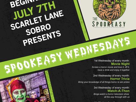 Spookeasy Wednesdays ARE A GO!!