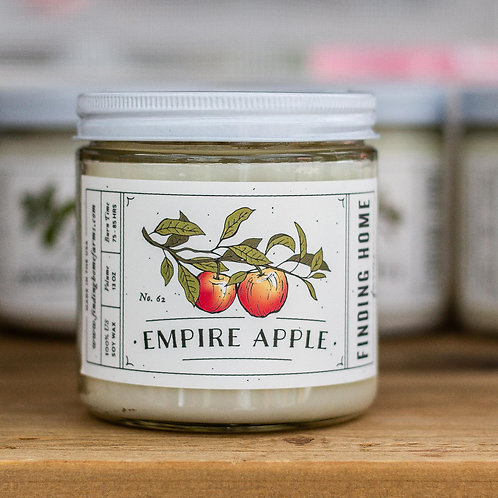 Finding Home Farms Empire apple candle large jar