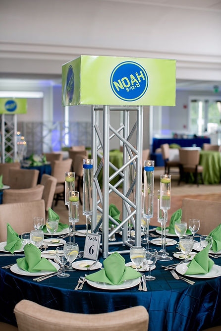 Football Mitzvah Centerpiece