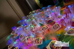 Custom glow place cards