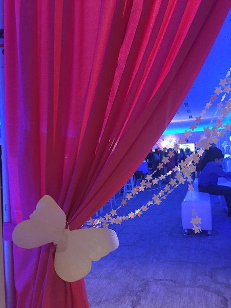 Paper Flower Event Decor