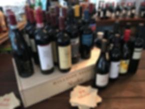 Wine Tasting Bar Setup