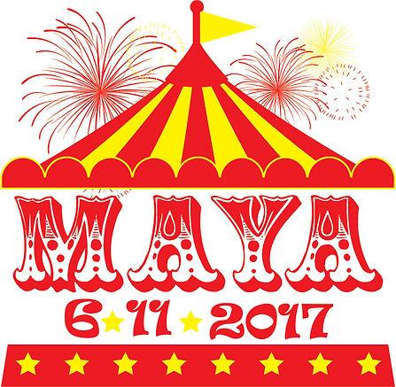 Custom Circus Mitzvah Logo