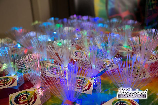 Tie Dye Place Cards