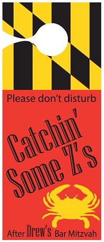 Please do not disturb custom sign