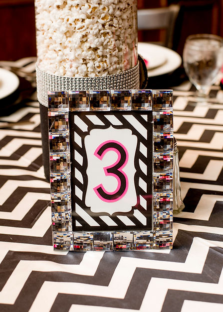 Laser Cut Table Numbers