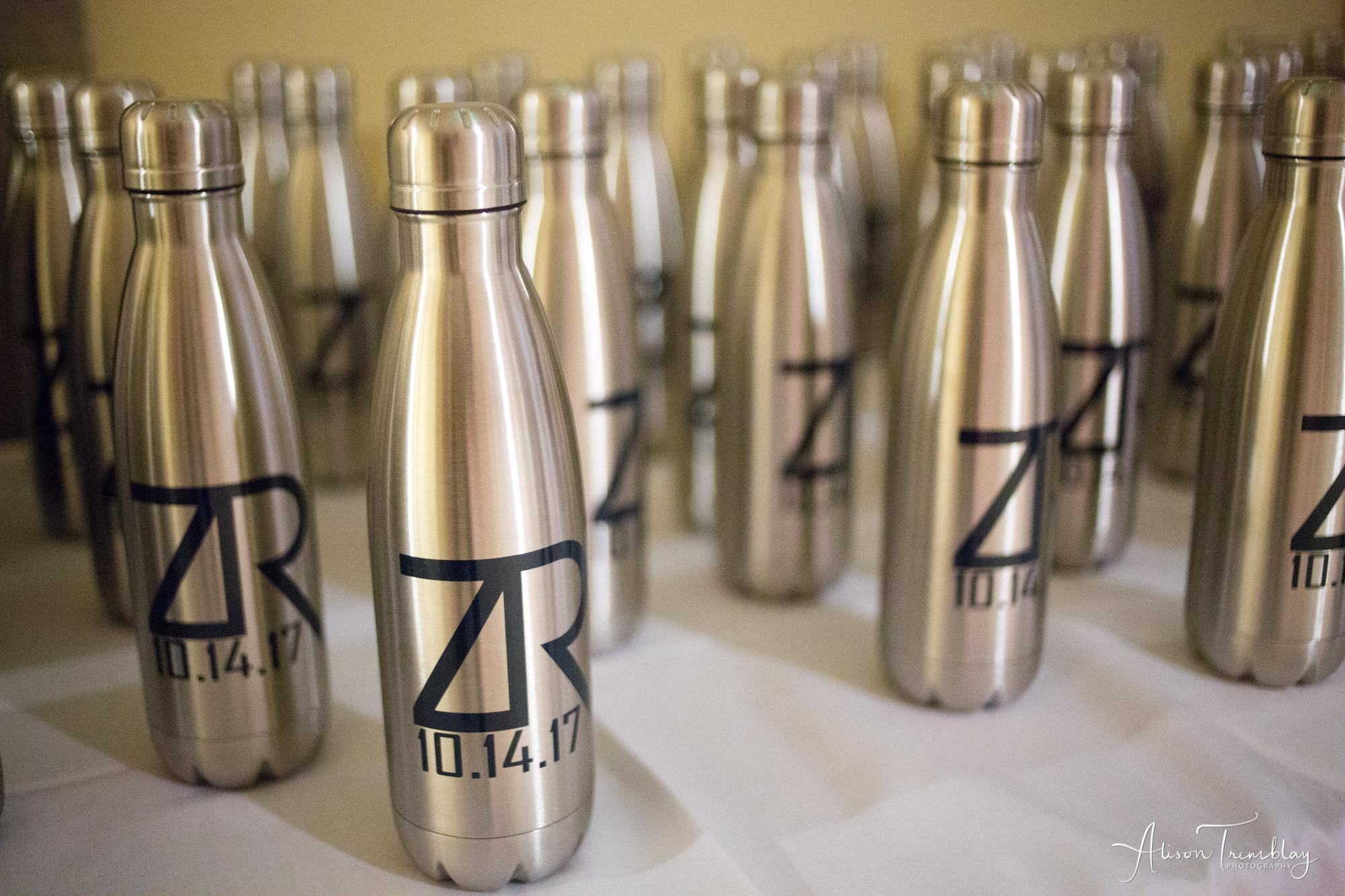 Custom Water Bottle Favors
