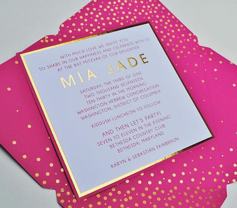 Mitzvah Invitation