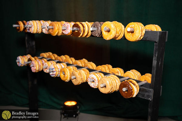 Rolling Donut Weight Rack