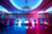 Painted dance floor, DJ booth, mitzvah decor, B'nai mitzvah decor,
