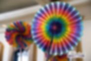 Tie Dye Centerpiece