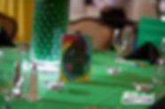 Tie Dye Table Number
