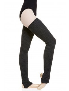 Long navy legwarmers