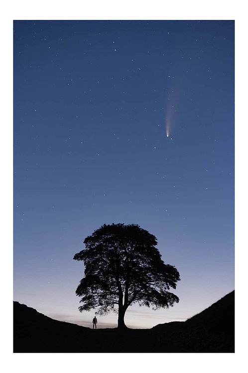 Comet neowise sycamore gap