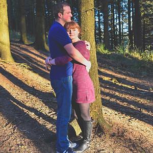 amy & richard prewedding shoot