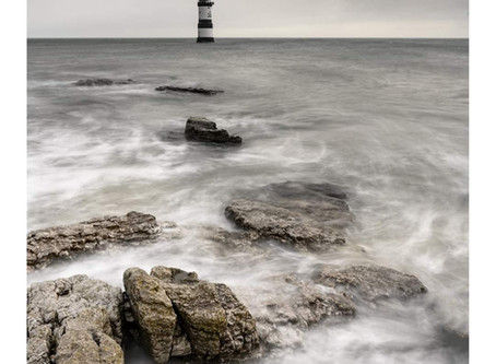 Penmon Lighthouse Wales 16th January 2020