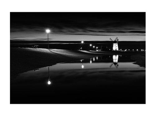 lytham windmill reflections