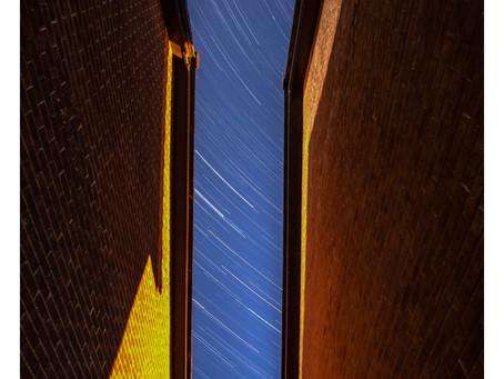 Star trails from my garden