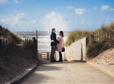 STEPHEN & LAURA PRE WEDDING SHOOT #FORMBY #WEDDINGPHOTOGRAPHY #LIVERPOOL