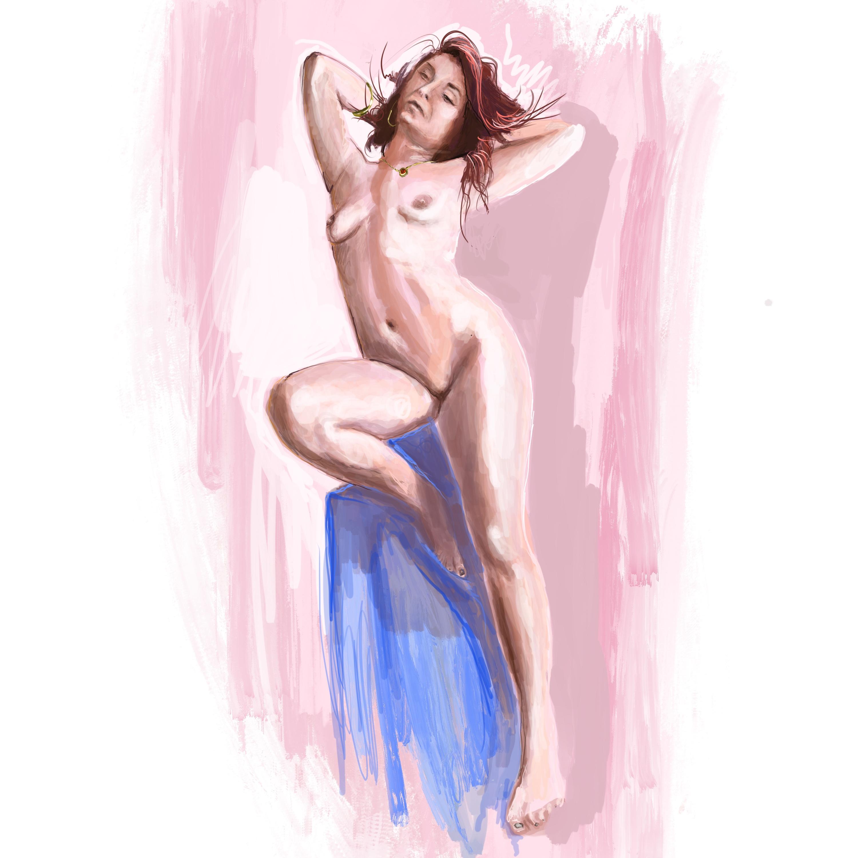 Quick sketch, Amanda 1