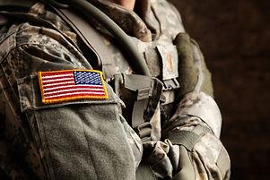Soldato dell'esercito americano a Univer