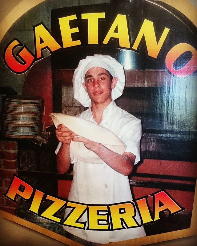 TBT when I was about 14 spinning pizzas in the heat of a wood burning oven at Spagos.jpg Was where i