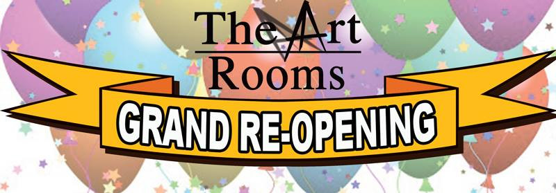 The Art Rooms Grand Re-Opening