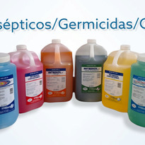 Antisépticos, germicidas, desinfectantes y Geles
